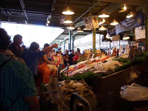 Fish Market at Pike Place