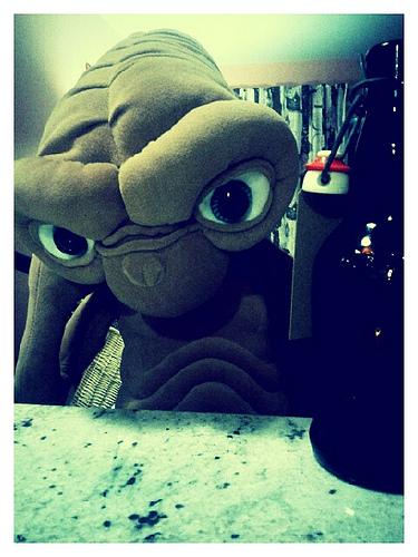 Drinking E.T.
